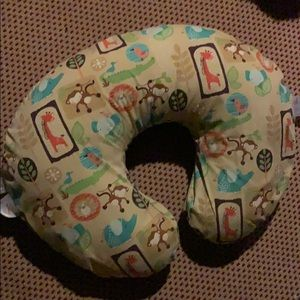 Boppy nursing pillow with case